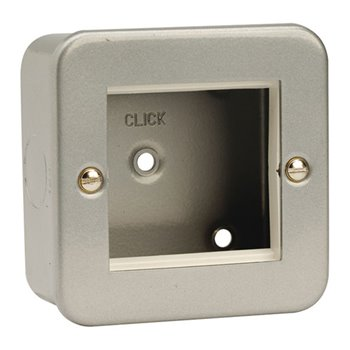 Click New Media 1 Gang Plate Twin Aperture - Plates | CL311