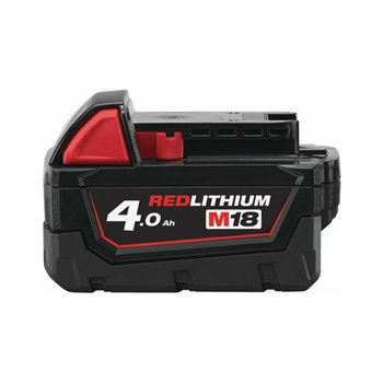 Milwaukee M18B4 4AH Battery Red Lithium-Ion | 4932430063 M18B4