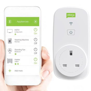 Efergy Ego Smart Wifi Socket Home Controller