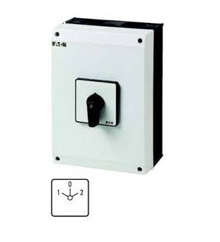 1 Pole 63A C/over Switch Eaton|Moller