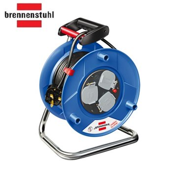 20m Heavy Duty Garant Cable Reel 220-240V - 3 x 13A Sockets Outlets brennenstuhl 1208113