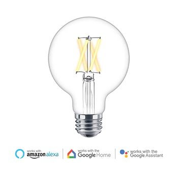 Ener-J WiFi Smart 8.5W Globe LED Dimmable & CCT Changing Filament Lamp SHA5309