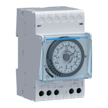 Time Switch Daily Cycle/24 Hour 230V 16A 228110 Hager EH110