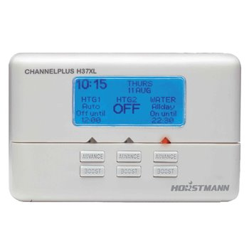 Horstmann Channelplus H37XL 3 Channel Central Heating/Hot Water Programmer 7 Day H37