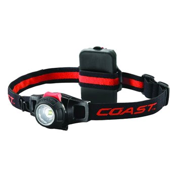 Coast HL7 Pure Beam Focus LED Head Torch/Head Lamp 285Lm Dimmable IPX4 Black